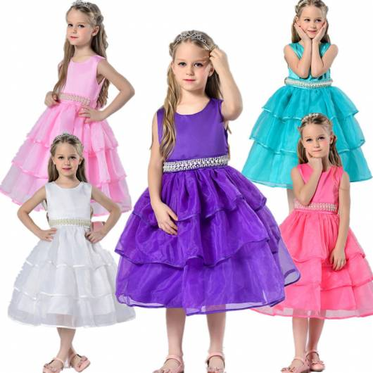 vestido de formatura infantil destaque