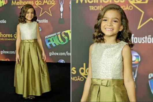 vestido de formatura infantil famosas