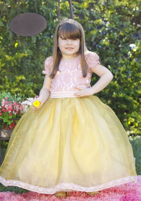 vestido de formatura infantil princesa
