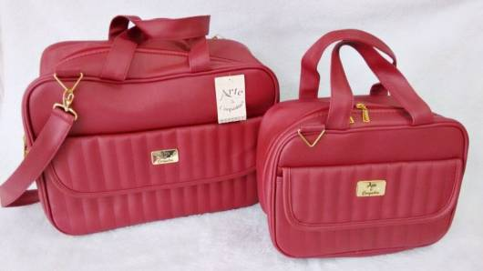 kit de bolsas vermelhas