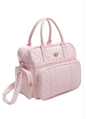 bolsa rosa bebê