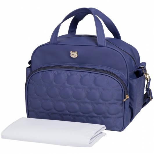 bolsa azul urso