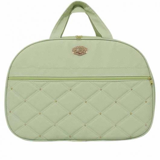 bolsa verde bebê