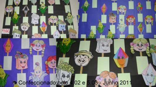 Brincadeiras de Festa Junina Infantil fantoches