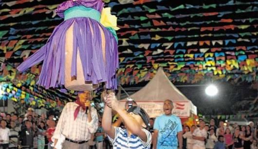 Brincadeiras de Festa Junina Infantil pote