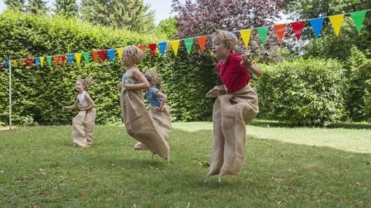 Brincadeiras de Festa Junina Infantil saco
