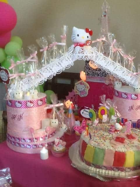 Festa Hello Kitty um ano