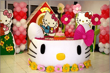 Festa Hello Kitty baby