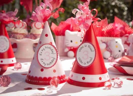 Festa Hello Kitty para crianças
