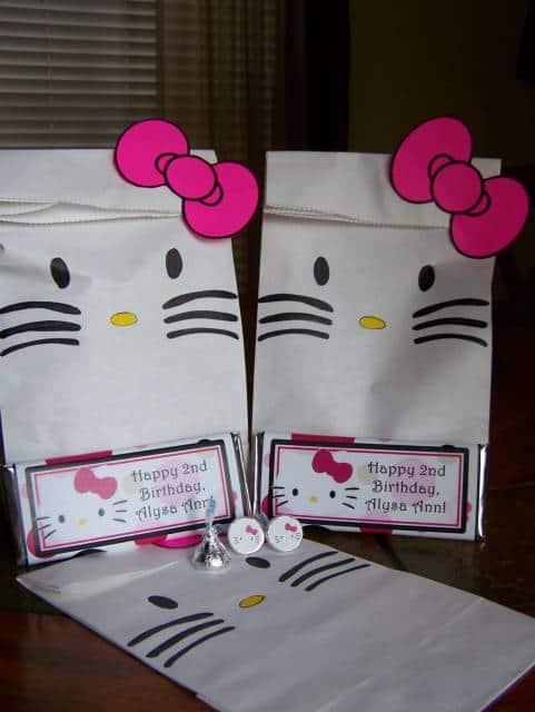 Festa Hello Kitty sacolinha