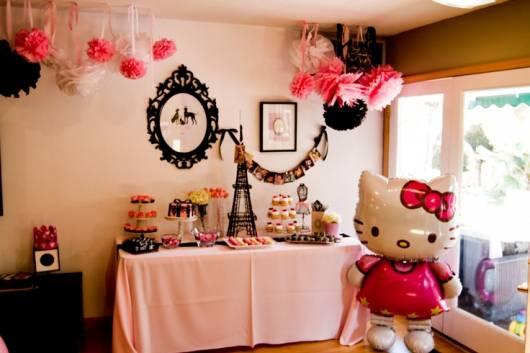 Festa Hello Kitty em casa