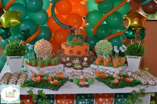 mesa Festa Rei Leão
