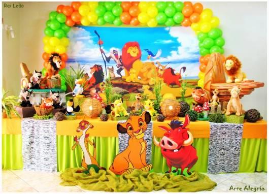 Festa Rei Leão decoração