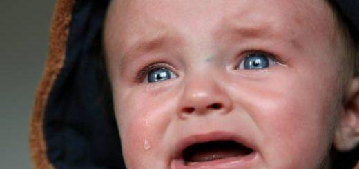Bebê chorando.