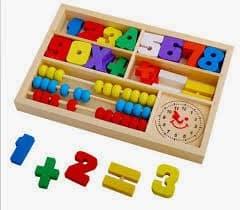 brinquedo aprender matemática