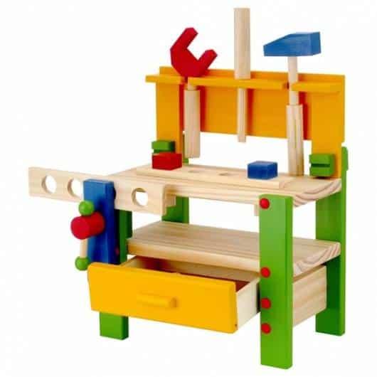 mesa de atividades madeira