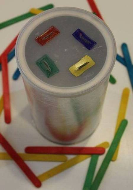 brinquedo simples reciclagem