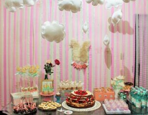 decoração festa em casa