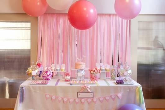 decoração mesa festa