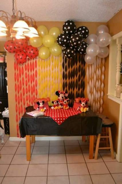 festa Minnie e Miickey