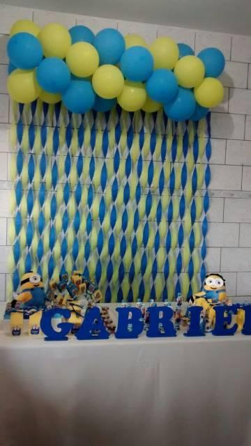 decoração festa Minions