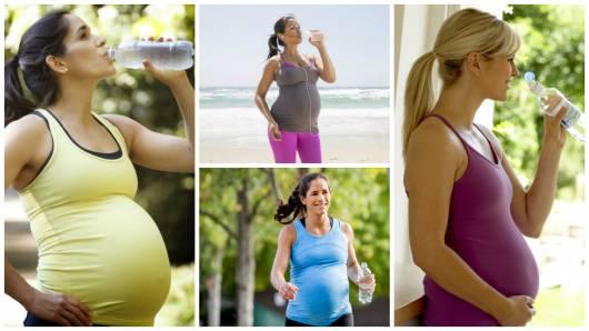 hidratação grávida