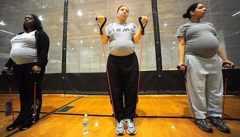 grávida obesa