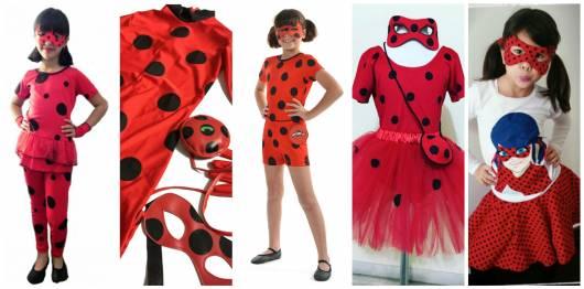 8eba2254cbfe8b Fantasia da Ladybug Miraculous: modelos e como fazer passo a passo!