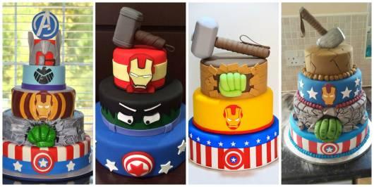 ideias bolos de andares