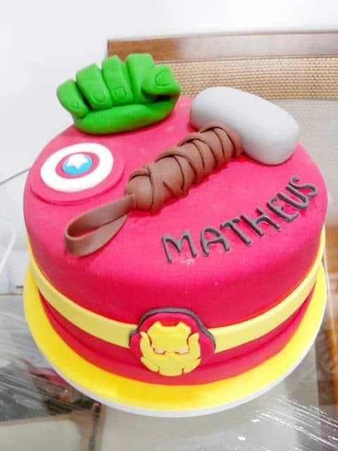 bolo com nome