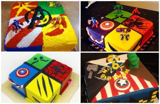 ideias para bolo quadrado