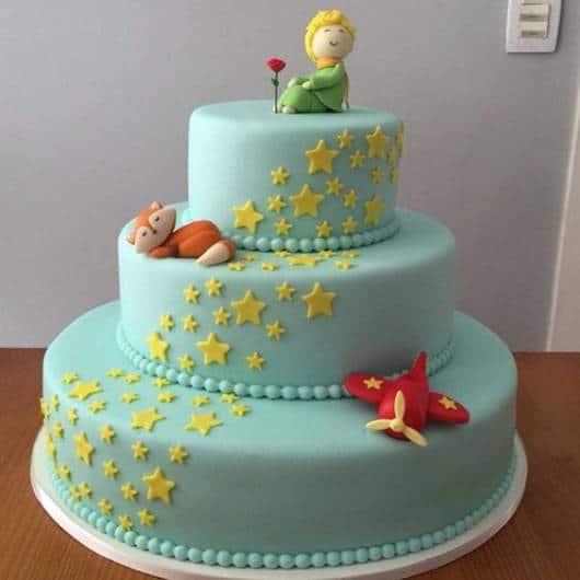 bolo azul 3 andares