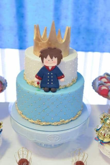 topo de bolo de coroa
