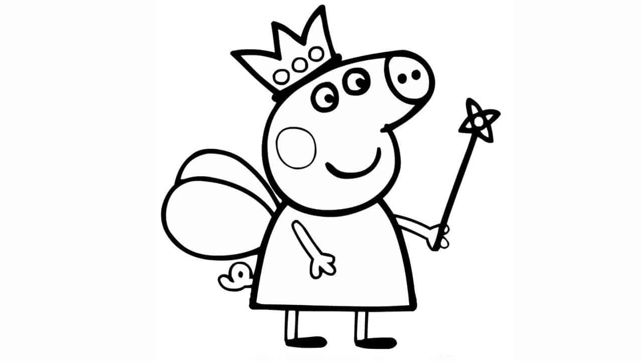 Desenhos Para Colorir Peppa Pig 45 Opcoes Para Imprimir