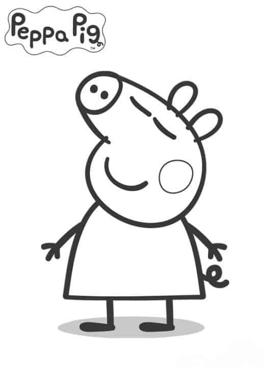 desenho simples para pintar
