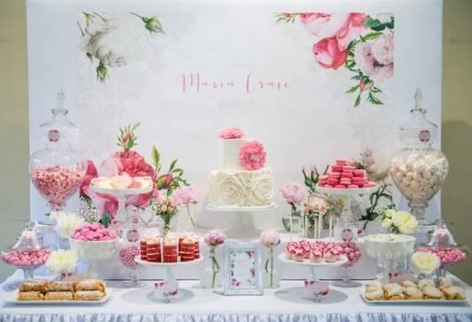 festa decoração floral