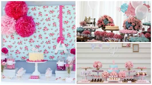 ideias para festa rosa e azul