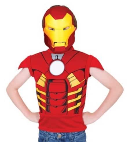 Fantasia do Homem de Ferro comercializada pela Ri Happy.
