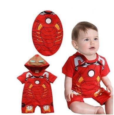 Fantasia do Homem de Ferro para bebês.