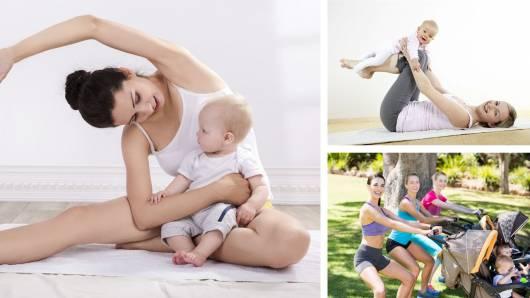exercícios para mulheres que estão amamentanto