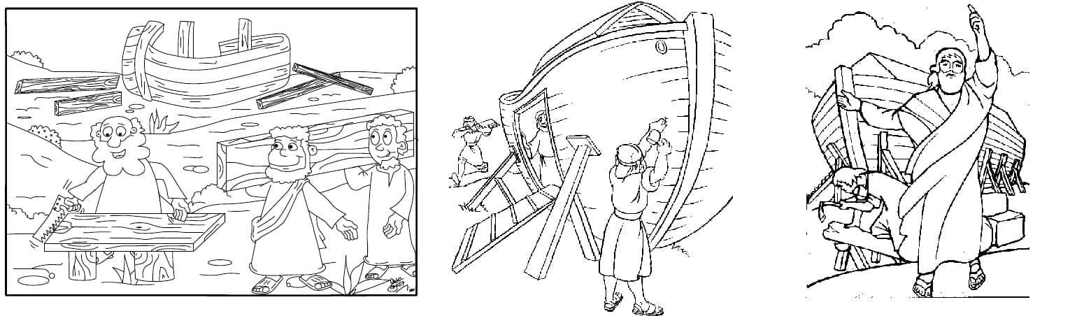 Noé construindo a arca