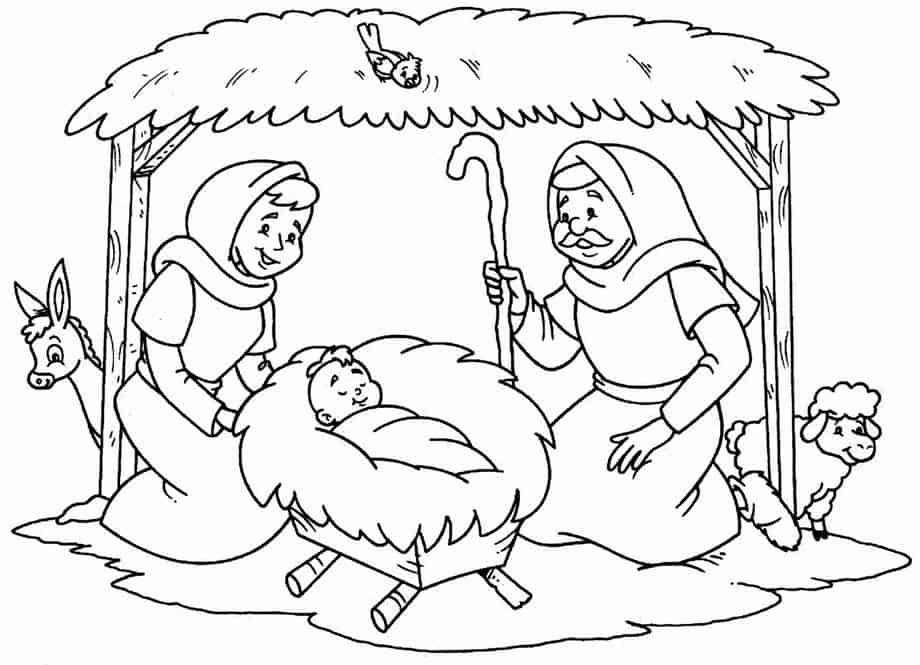54 Desenhos Biblicos Para Colorir E Imprimir Gratis Baixe Agora