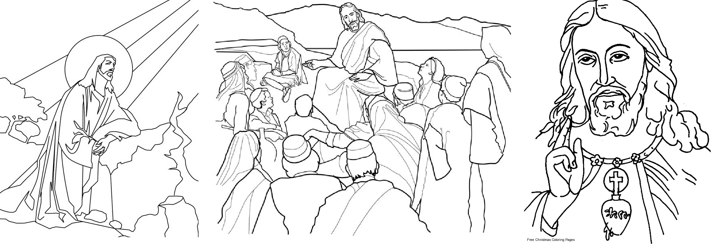 desenhos de Jesus