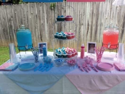 mesas de doces para festa de aniversario