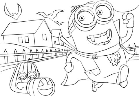 desenho halloween