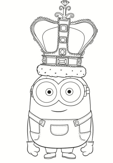 minion coroa