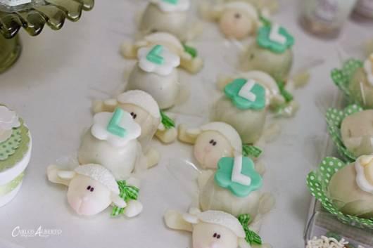 Trufas em forma de ovelhinha