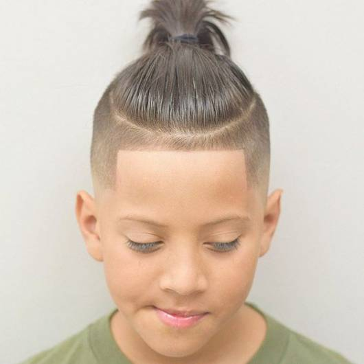 corte top knot