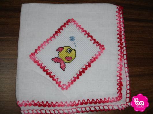 bordado crochê