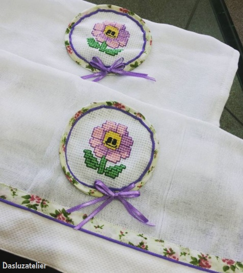 bordado flor